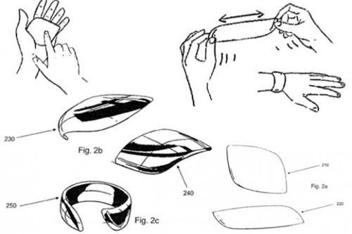Nokia патентует гибкий нанотелефон