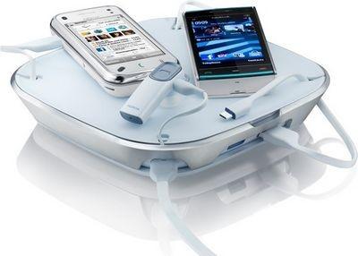 Nokia представила необычное зарядное устройство charging plate dt-600