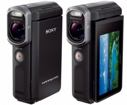Новая водонепроницаемая камера handycam hdr-gw66ve