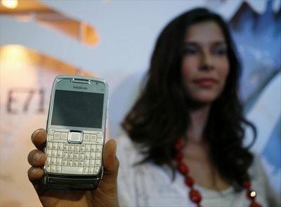 Новые бизнес-смартфоны nokia e71 и e66. фото