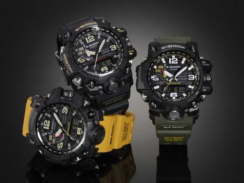 Новые часы casio g-shock mudmaster для использования в экстремальных условиях