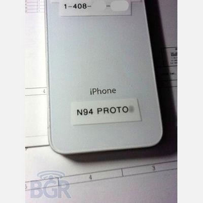 Новый iphone 4s проходит тестирование. фото