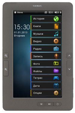 Новый tft-ридер texet tb-722hd с возможностью проигрывания видео 1080р