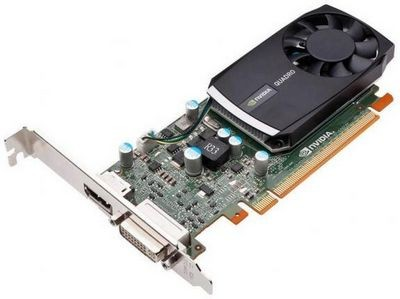 Nvidia расширила модельный ряд профессиональных видеокарт моделью quadro 400