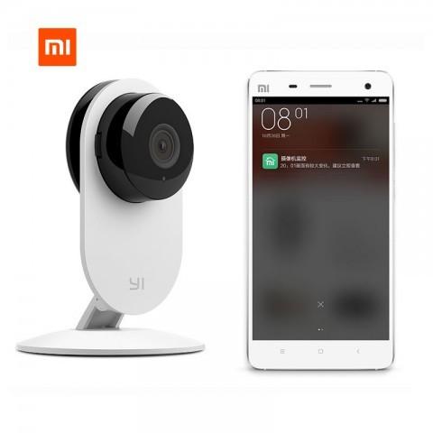 Обновлённая смарт-камера xiaomi yi smart пригодится для ночного видеонаблюдения