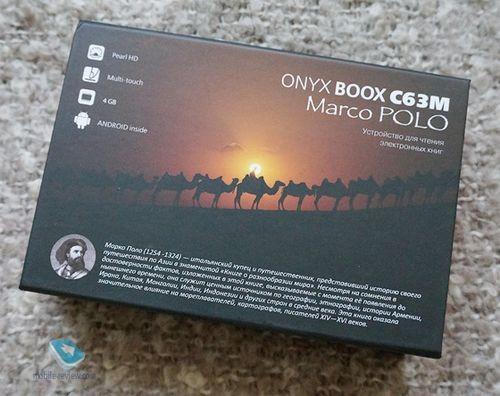 Обзор электронной книги onyx boox c63m marco polo
