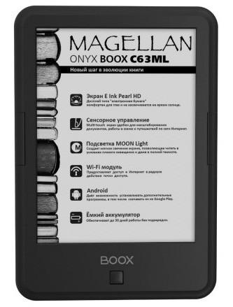 Обзор электронной книги onyx boox c63ml magellan