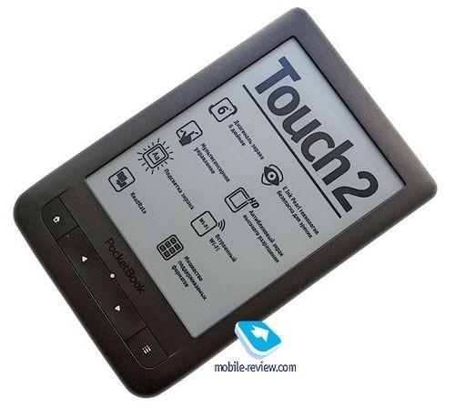 Обзор электронной книги pocketbook touch 2