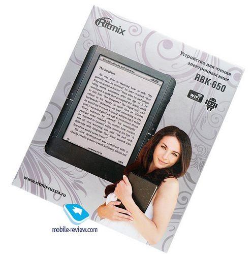 Обзор электронной книги ritmix rbk-650