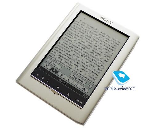 Обзор электронной книги sony prs-350