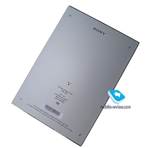 Обзор электронной книги sony prs-505