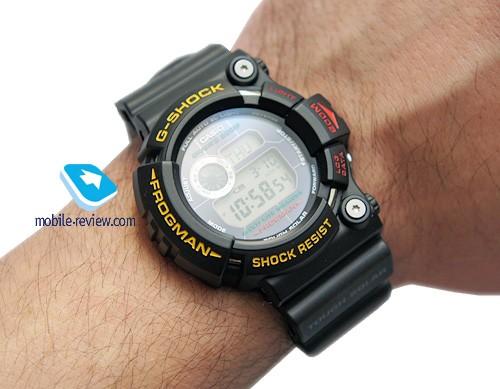 Обзор многофункциональных часов casio gw-200z-1d (frogman)