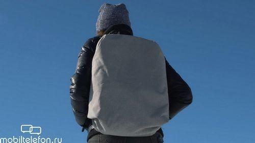 Обзор рюкзака meizu