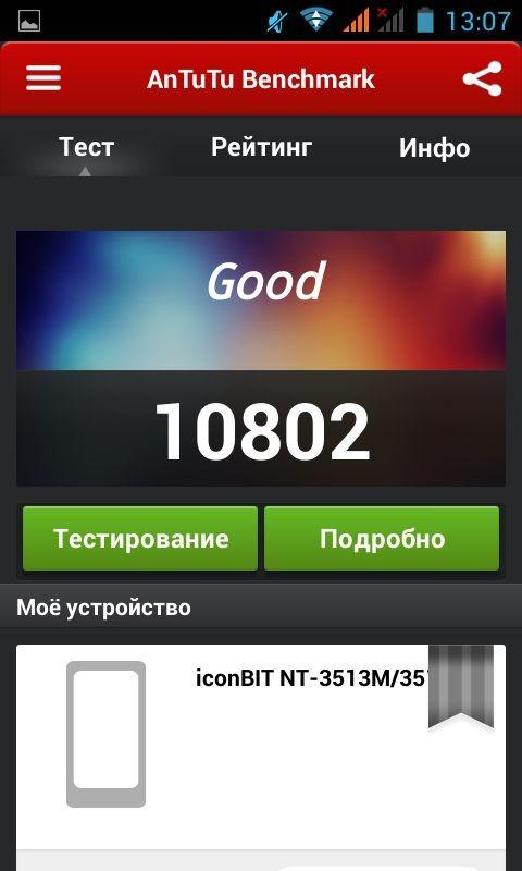 Обзор смартфона iconbit mercury lx nt-3514m