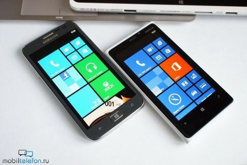 Обзор-сравнение nokia lumia 920 против samsung ativ s