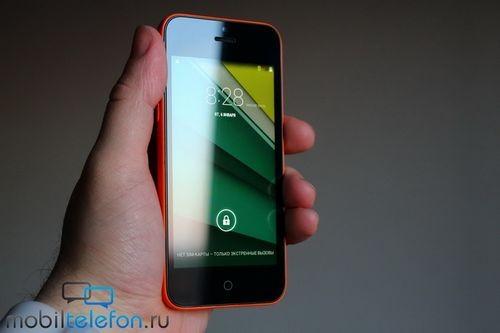 Обзор texet ix-mini (tm-4182): бюджетный клон iphone 5c
