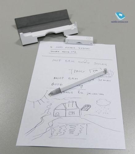 Обзор умной ручки wacom bamboo spark