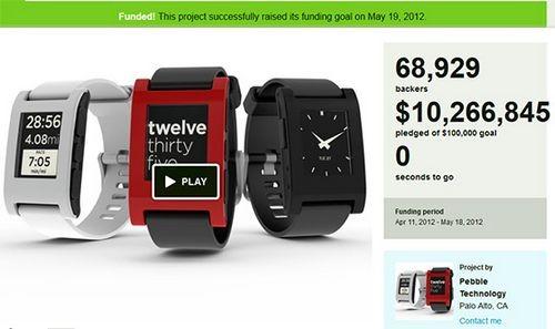 Обзор умных часов для смартфона – pebble watch