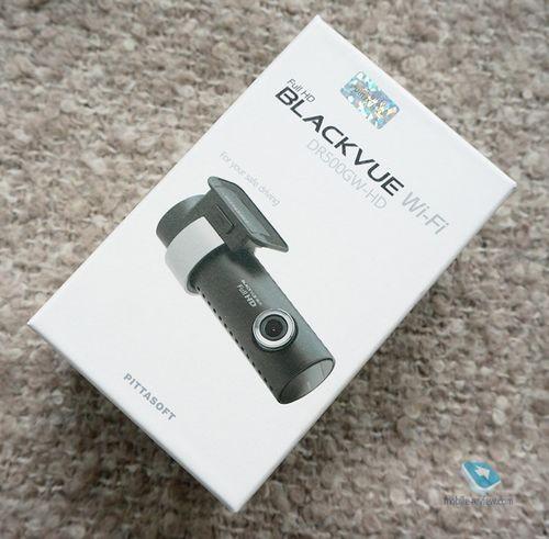 Обзор видеорегистратора blackvue dr500 gw