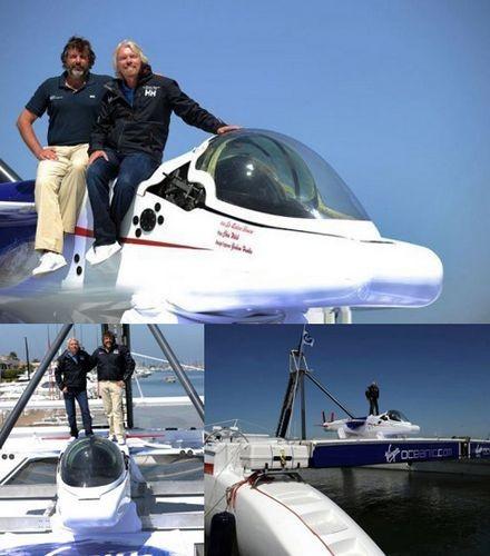 Одноместная лодка нацелилась на глубочайшие впадины океана