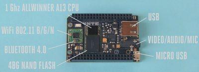 Одноплатный компьютер chip будет стоить всего $9