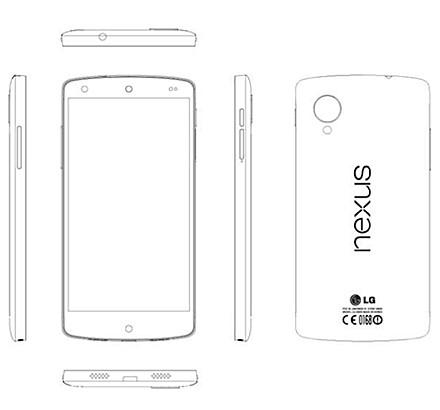 Опубликованы характеристики будущего эталонного смартфона google nexus 5