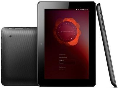 Открылись предварительные заказы на ubuntu-планшет