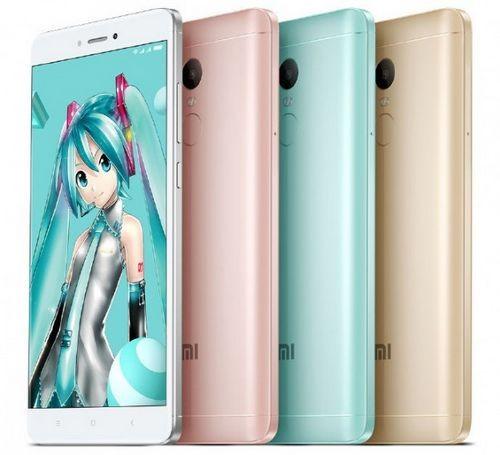 Озвучена стоимость смартфонов xiaomi redmi note 4x и note 4x hatsune miku special edition