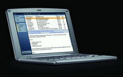 Palm foleo: новая категория мобильных устройств. фото