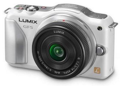 Panasonic анонсировала фотокамеру lumix dmc-gf5 стандарта micro four thirds