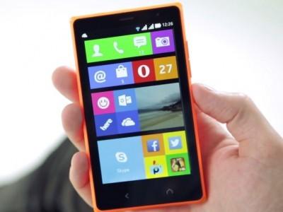 Первое поколение смартфонов nokia x не получит x platform 2.0