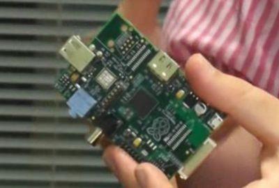 Первый прототип raspberry pi model a