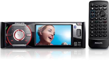 Philips анонсировала автомобильную мультимедиа-систему с топовым экраном