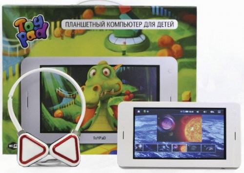 Планшет для детей toypad уже в россии