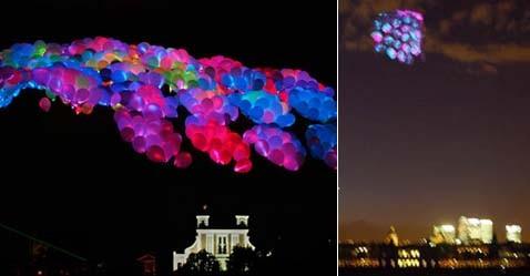 Плавающие в воздухе медузы помогают человеку исчезнуть