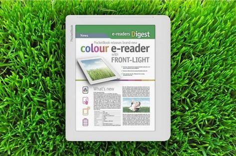 Pocketbook анонсирует первый в мире ридер с цветным e-ink экраном и подсветкой