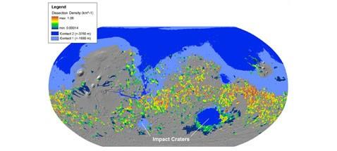 Получено новое доказательство древнего океана марса