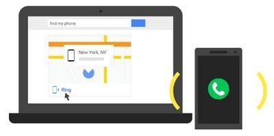 Пользователи android теперь могут искать свои смартфоны напрямую через google.com