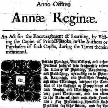 Право автора: о том, как королева анна установила авторское право, и о том, почему оно, и только оно защищено всемирной декларацией прав человека