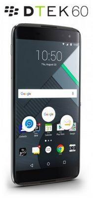 Представлен blackberry dtek60 с quad hd экраном, 4 гб озу и usb type-c за $499
