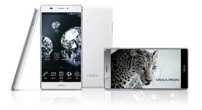 Представлен смартфон pantech vega iron