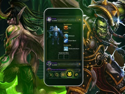 Приложение-компаньон для world of warcraft: legion появилось в app store и google play