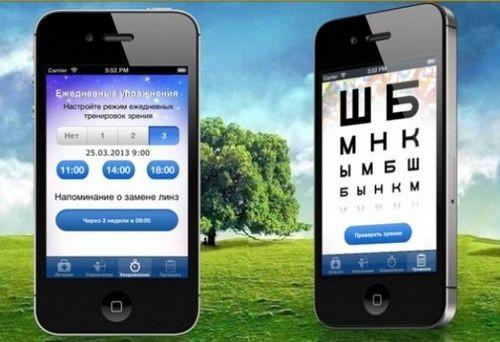 Приложения для зрения на вашем iphone