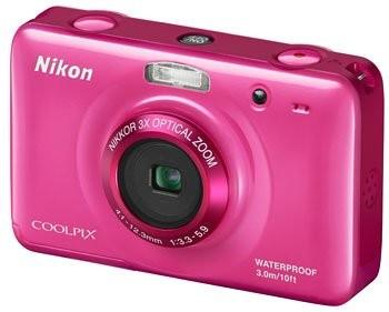 Прочная фотокамера nikon coolpix s30 для всей семьи