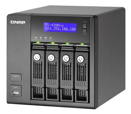 Qnap представил 4-дисковый сетевой накопитель на базе intel atom