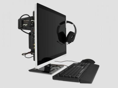 Quietpc предлагает основу для сборки моноблочного компьютера