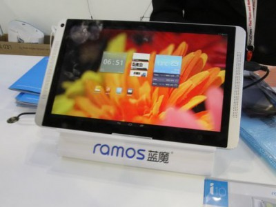 Ramos i10 pro на платформе intel bay trail-t будет работать с двумя ос