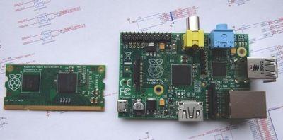 Raspberry pi compute module: «малинка» с размером планки памяти ноутбука от создателей raspberry pi
