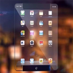 Разработан первый в мире прозрачный планшет. видео