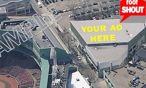 Реклама на крышах целится в интернет и самолёты